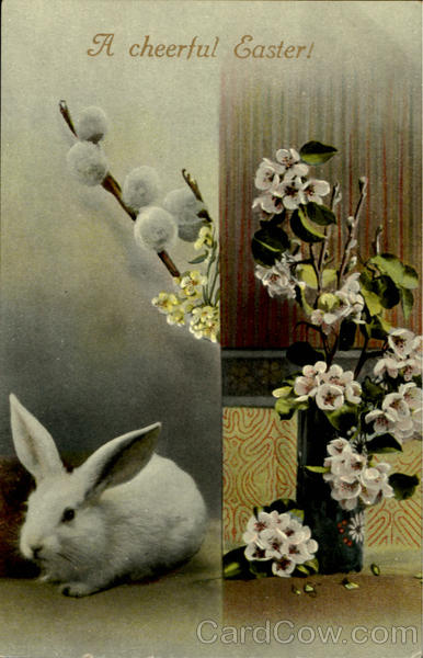 A Cheerful Easter With Bunnies