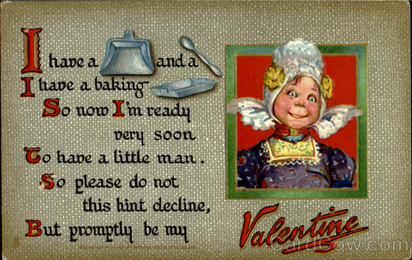 Pots and Pans series Valentines Day