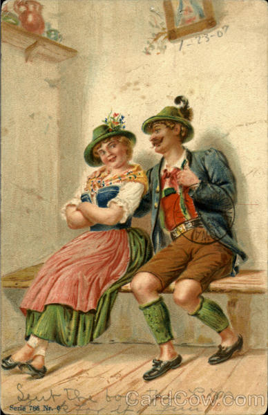 Bavarian couple Romance & Love