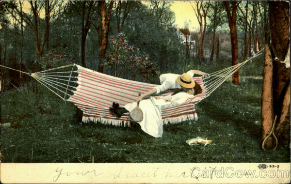 After Tennis in a Hammock Romance & Love