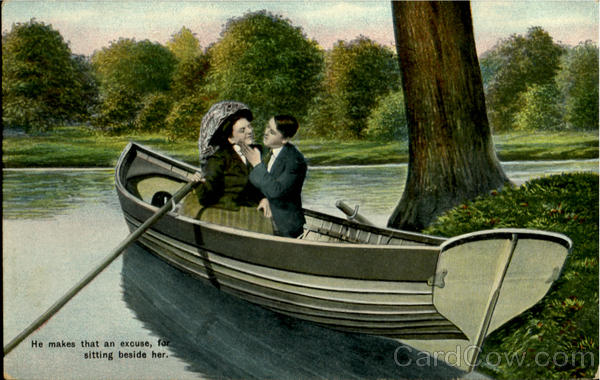 He Makes That An Excuse Romance & Love Canoes & Rowboats