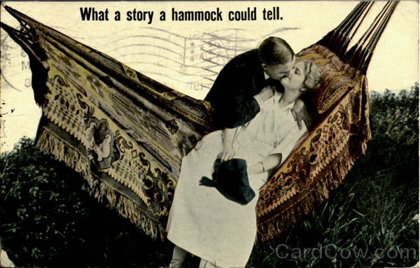 What A Story A Hammock Could Tell Romance & Love