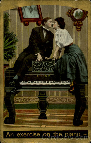 An Exercise On The Piano Romance & Love Music