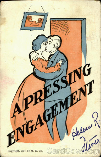 Apressing Engagement Romance & Love
