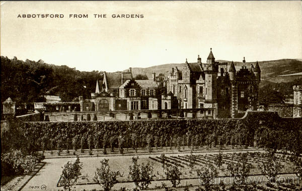 Abbotsford From The Gardens Scotland