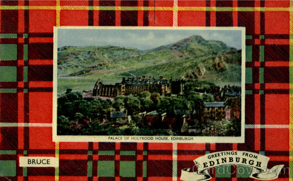 Palace Of Holyrood House Edinburgh Scotland