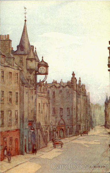 Canongate Tolbooth Scotland