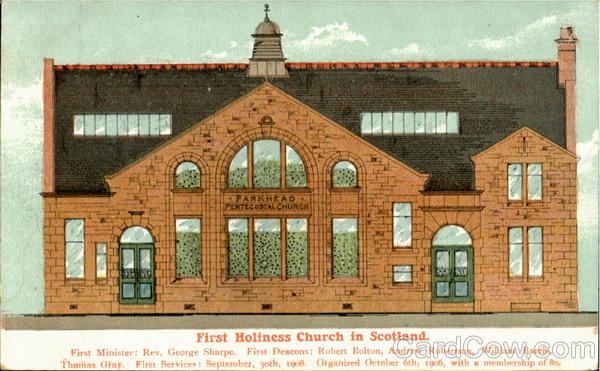 First Holiness Church In Scotland