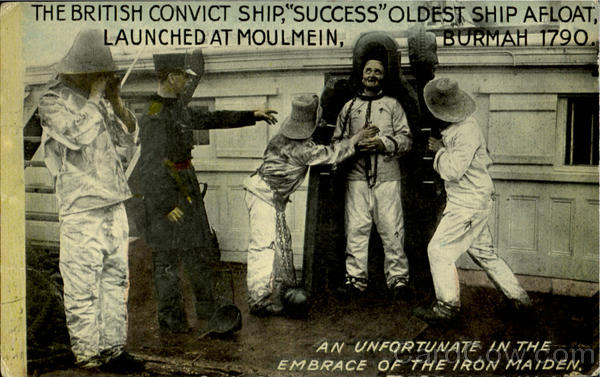 The British Convict Ship Success England