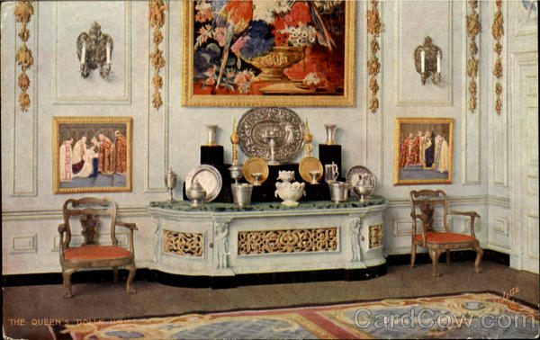 The Queen's Dolls House England
