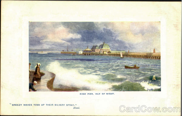 Ryde Pier Isle Of Wight England