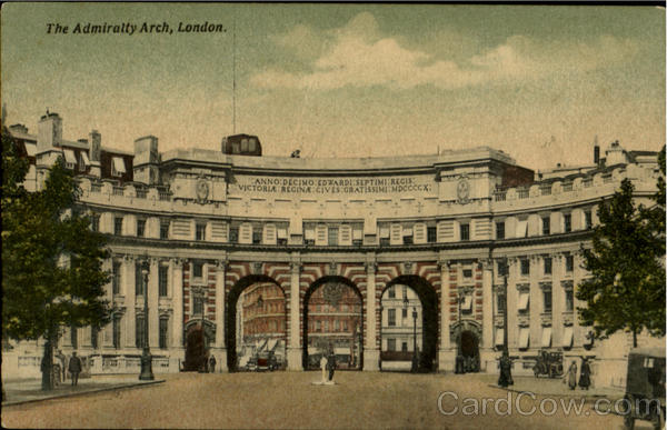 The Admiralty Arch London England