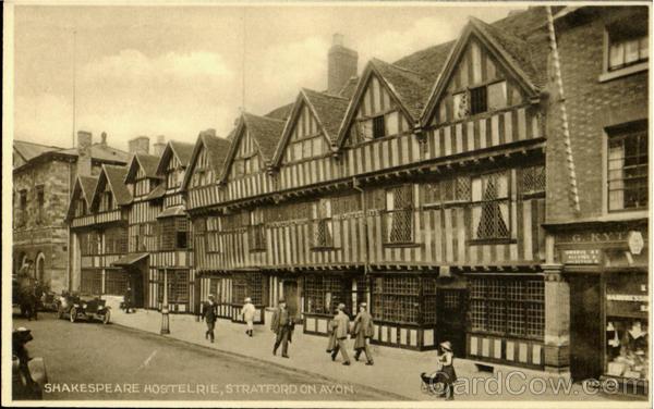 Shakespeare Hostelrie Stratford-on-Avon England Warwickshire