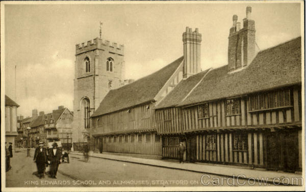 King Edwards School And Almhouses Stratford-on-Avon England