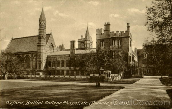 Oxford Balliol College Chapel England Oxfordshire