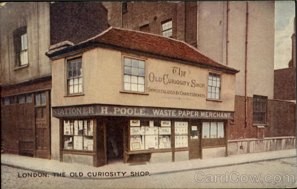 The Old Curiosity Shop London England