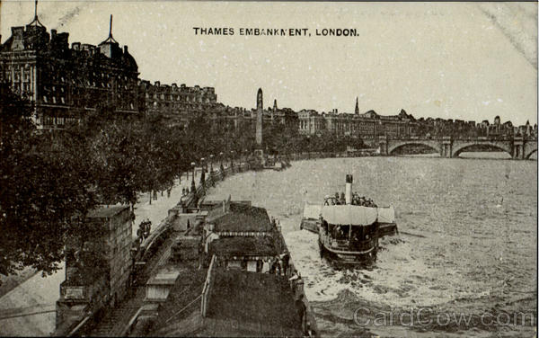 Thames Embankment London England