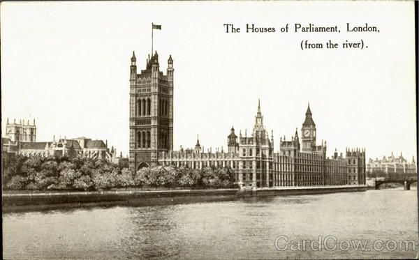 The Houses Of Parliament London England