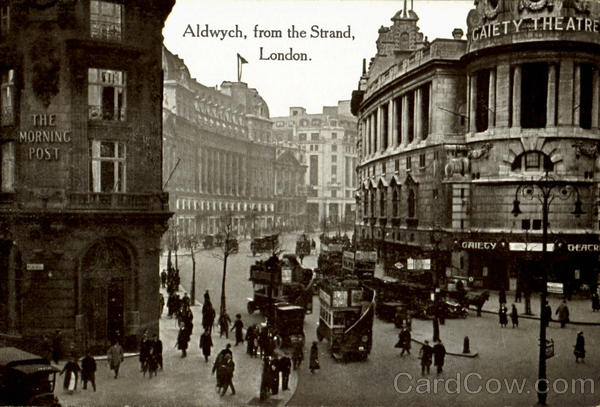 Aldwych From The Strand London England