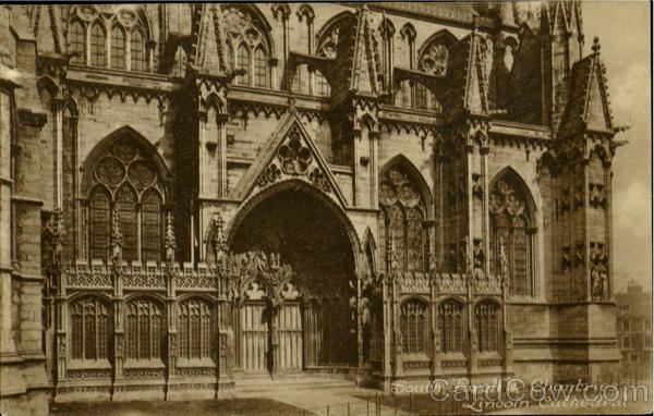 South Porch & Chantenes, Lincoln Cathedral England