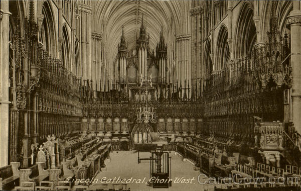 Lincoln Cathedral Choir West England