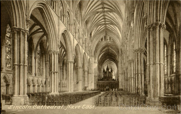 Lincoln Cathedral Nave East England