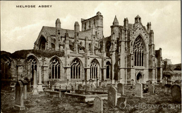 Melrose Abbey England