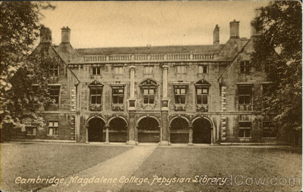 Pepysian Library, Cambridge Magdalene College England