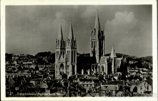Truro Cathedral From The South West England