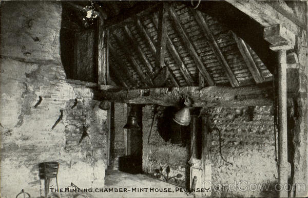 The Minting Chamber Mint House Pevensey England