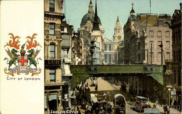 Ludgate Circus England