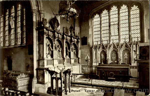 Chapel Of St. Peter Tower Of London England
