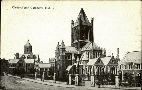 Christchurch Cathedral Dublin England