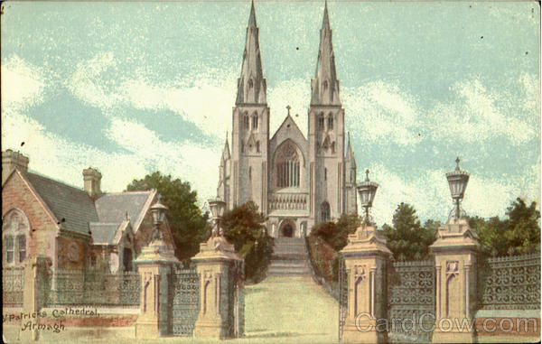 St. Patricks Cathedral Armagh England
