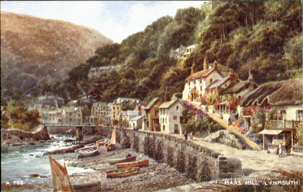 Mars Hill Lynmouth England