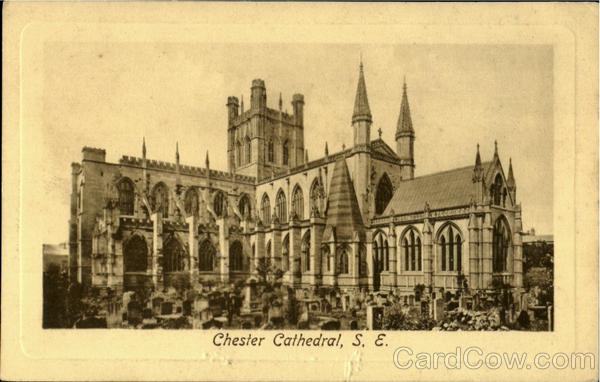 Chester Cathedral South East England