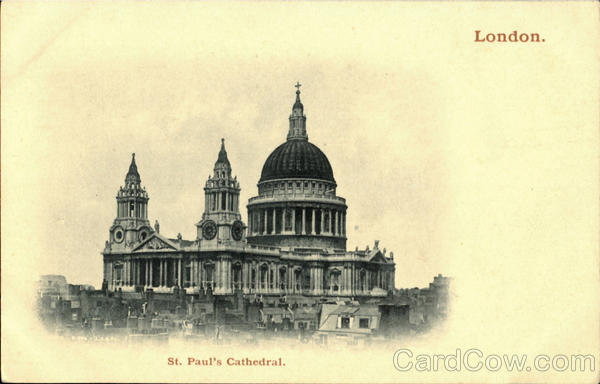St. Paul's Cathedral London England