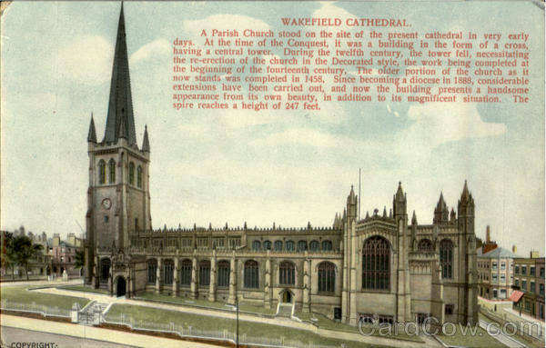 Wakefield Cathedral England