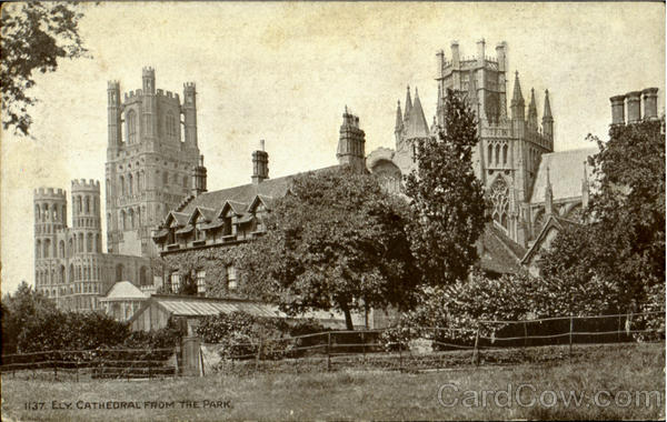 Ely Cathedral From The Park England