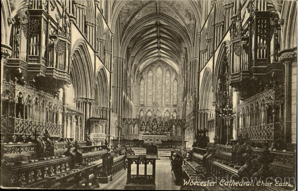 Worcester Cathedral Choir East England