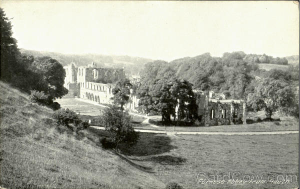Furness Abbey From South England