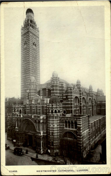 Westminster Cathedral London England