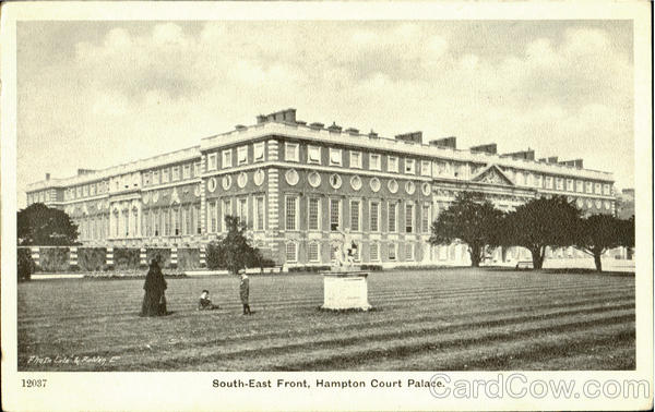 South-East Front Hampton Court Palace England