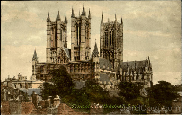 Lincoln Cathedral S. W England