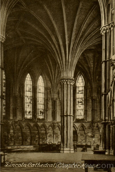 Lincoln Cathedral Chapter House England