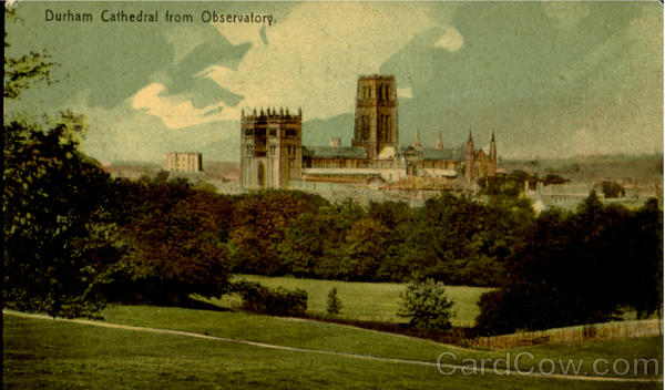 Durham Cathedral From Observatory England