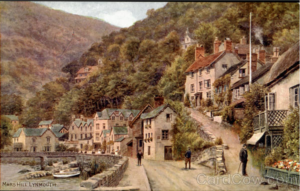 Marsh Hill Lynmouth England