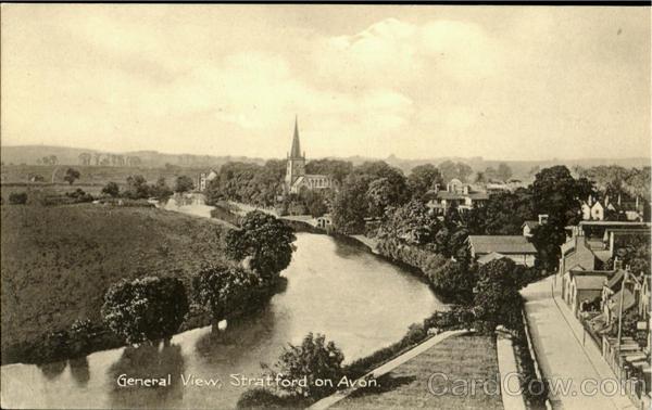 General View Stratford-On-Avon England Warwickshire