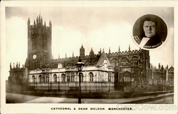 Cathedral & Dean Weldon Manchester England Greater Manchester