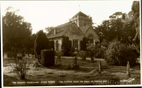 The Country Churchyard Stoke Poges England